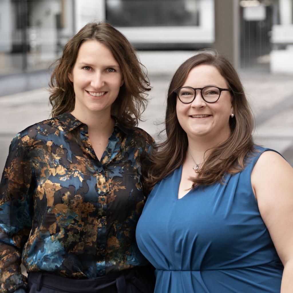 © 99 facets of agile - Vanessa Englert und Kristina Müller. Foto: Lucia Bartl